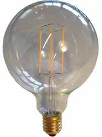 Filament Led Globe 125mm E27 Helder extra warm licht