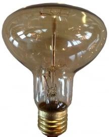 Kooldraadlamp Pompoen 40 watt E27 230V Goud
