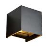 LED Cube Light Zwart