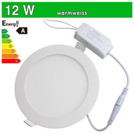 LED Paneel spot inbouw 12w