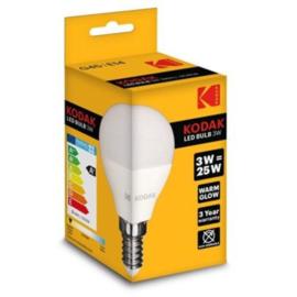 Kodak LED kogel E14 3W