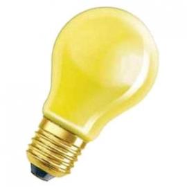 Standaardlamp 15 watt E27 geel