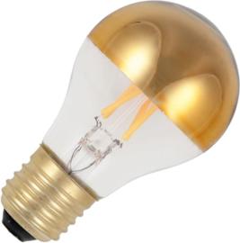Filament Led standaard/A60 kopspiegel goud 7w/53W E27 (NIET DIMBAAR)