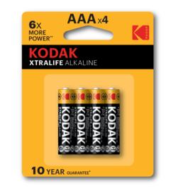 Kodak XTRALIFE Alkaline AAA