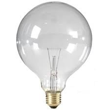Global-lux globe 95mm  60 watt 230V E27 Helder