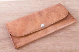 Batua Leather Wallet - Darker Oil