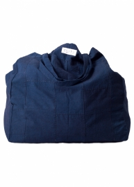 Patch tas - Donkerblauw