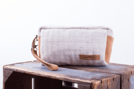 Make-up Bag - Naturel Zigzag