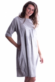Patch  jurk - Grijs