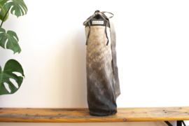 Tie Dye Yoga Mat Bag - Raindrop Gray/Green