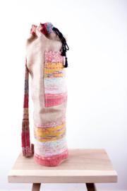 MuniMuni Yoga Bag - Rug Light/ Jute with open Pocket