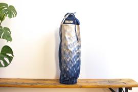 Tie Dye Yoga Mat Bag - Raindrop Indigo Blue