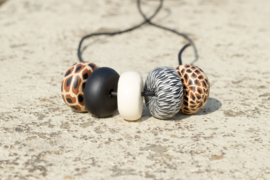 Rondelle - Wild Thing 5 beads
