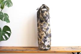 Tie Dye Yoga Mat Bag - Football Geen/Gray/ Yellow
