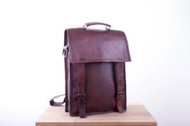 """Saadagee Leather 15,6"""" – Dark Brown"""