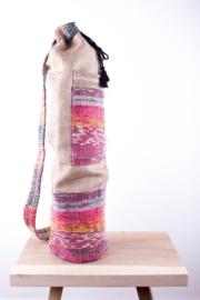 MuniMuni Yoga Bag - Rug/ Jute with open Pocket