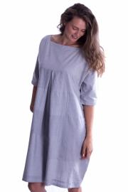 Patch jurk - Lichtblauw