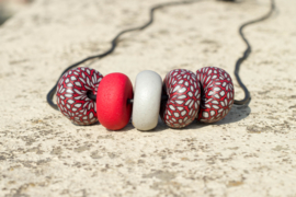 Rondelle - Moroccan 5 beads
