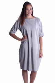 Split jurk - Grijs
