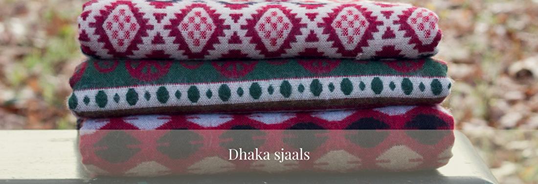 Warme dhaka sjaal