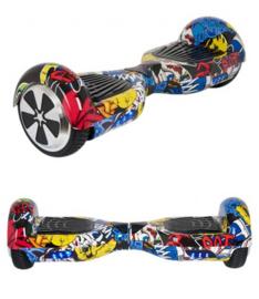 Hoverboard Graffiti Zwart 6,5 inch