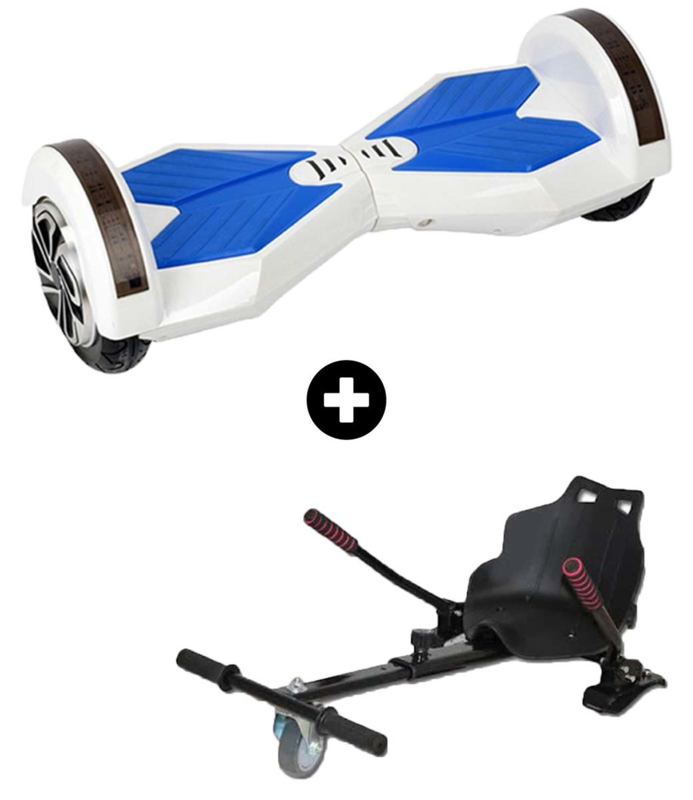 Hoverboard White 8 inch