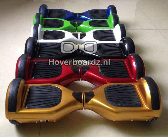 Hoverboard Kappenset Wit 6,5 inch