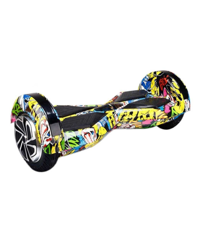 Hoverboard Graffiti 8 inch