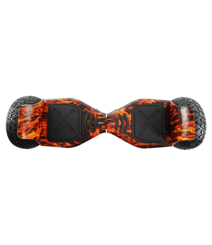 Off Road Hoverboard Flame Red 8,5 inch