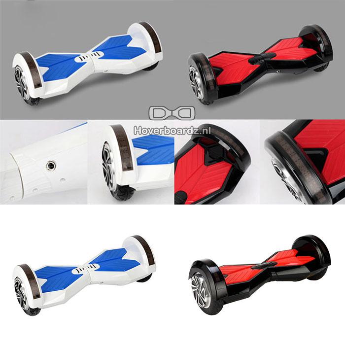 Hoverboard Kappenset Zwart 8 inch
