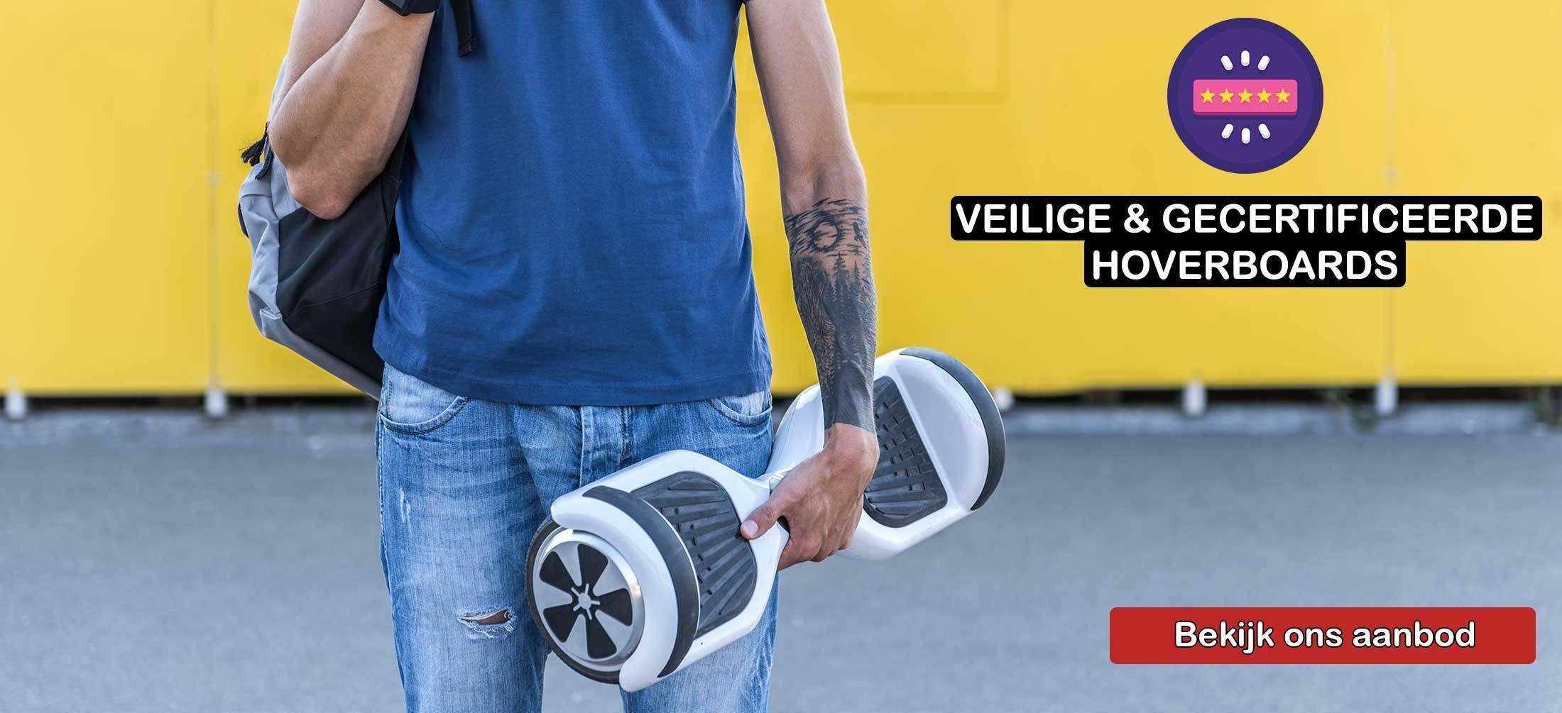 Veilige en gecertificeerde hoverboards