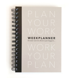 PLANBOEK Plan your Work A5 + KAART