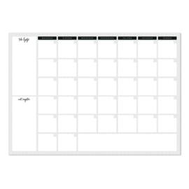 12 Maandplanners Stip (42 x 60 cm)