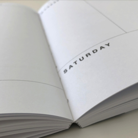 PLANBOEK Softcover A4 + KAART