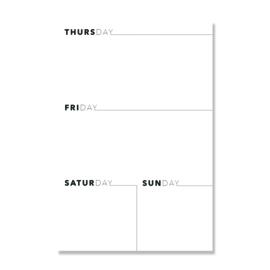 NEW: Plan Your Work Leopard print B