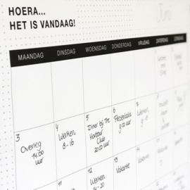 12 Maandplanners Black&White