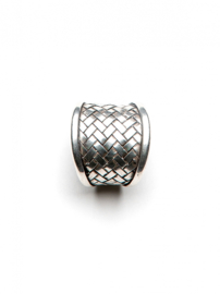 Quadrate Ring Silver