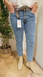 Jeans P36HBQ2P6E Blue Denim/Bleached