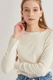 Basic Shirt 11418a Offwhite