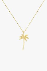 Palmtree Pendant Gold