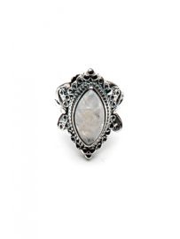 Moon Ring Silver