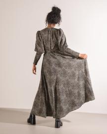 Suzie Smock Dress Black Print