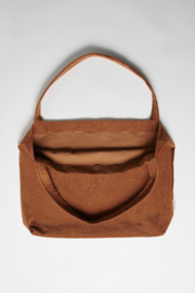 Brown-ie Rib Mom Bag