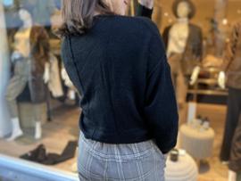 Knit Palerme Beige/Noir