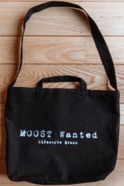 Moost Wanted Big Canvas Bag Black