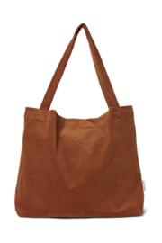 Brown-ie Rib Mom Bag