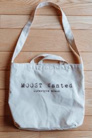Moost Wanted Big Canvas Bag Beige
