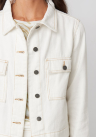 Lina Cargo Jacket White