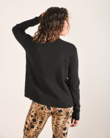 Kyra Pocket Knit Black