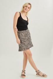 70501C Ruffle Skirt Black